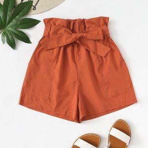 Pants - Self Tie Shorts